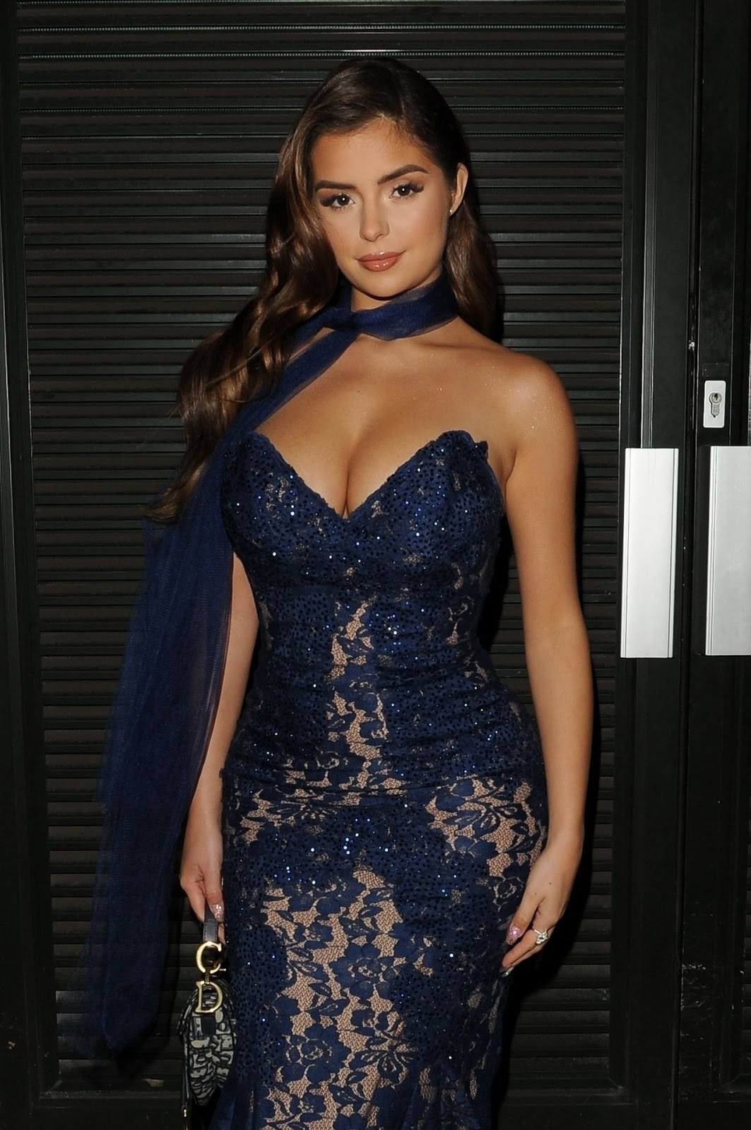 Demi Rose - Leaves Home For The Brits 2019 - Wed Feb 20 2019