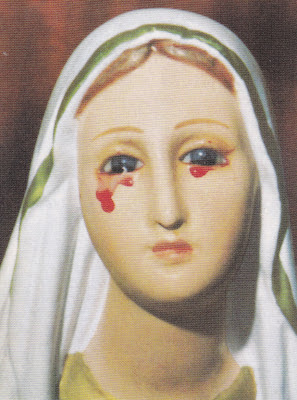 Image result for tears blood mary saint joseph