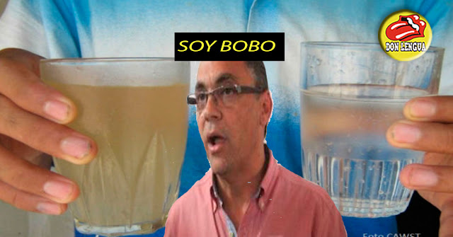 Gobierno del Zulia dice que el agua turbia que sale de los chorros la podemos hervir y la bebemos sin problema