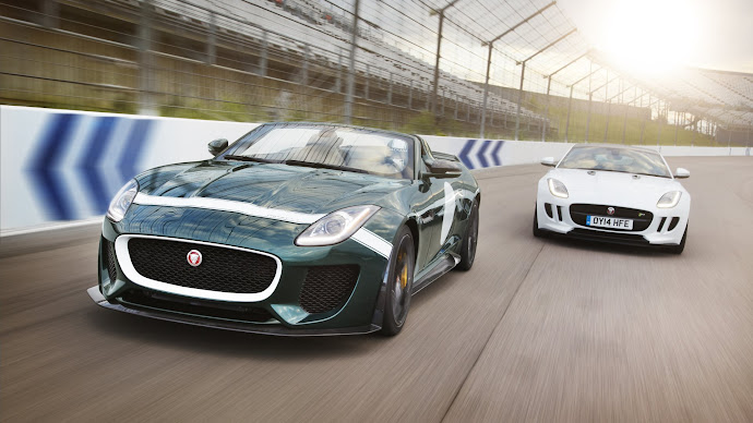 Wallpaper: Jaguar F-TYPE Project 7