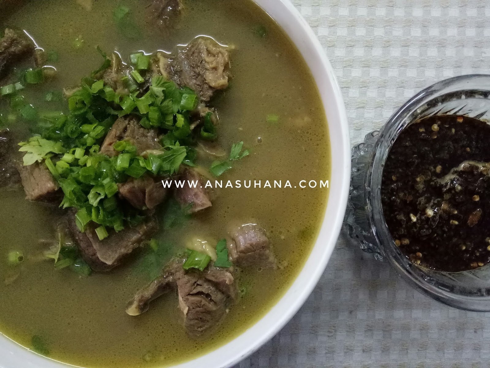 Resipi Sup Tulang Rusuk Sedap dan Mudah