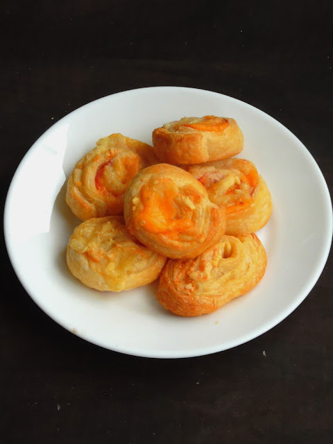 Cheese swirls, Cheese Pinwheels
