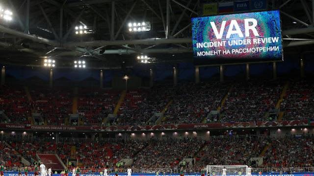 Fungsi VAR Bertambah di Piala Dunia 2018