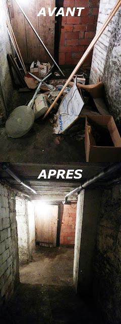 Débarras de cave à Lyon