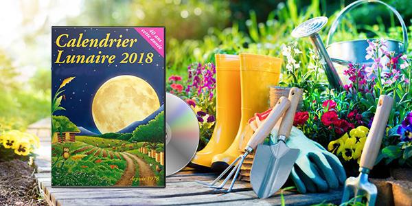 Calendrier lunaire de jardinage - 2018