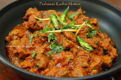 Peshawari Kadhai Mutton