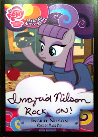 My Little Pony Ingrid Nilson - Maud Pie Series 3 Trading Card