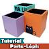 Como fazer um Porta-Lápis de MDF | Pintura