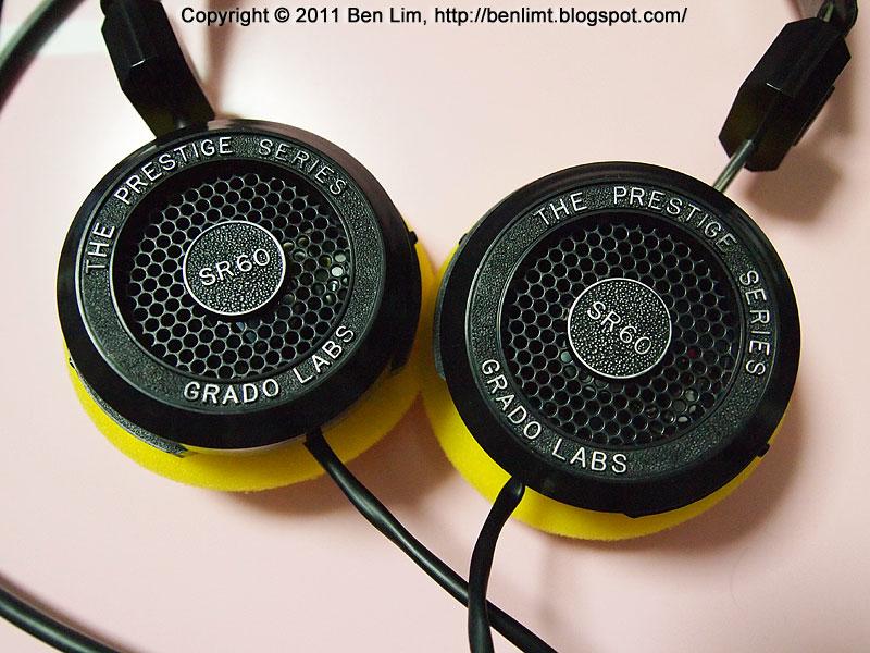 ben: Grado Prestige Series Model SR60i and HD414 pads