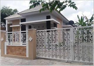 motif terbaru pagar rumah minimalis