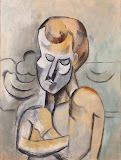 Man with his Arms Crossed by Pablo Picasso - Drawings from Hermitage Museum