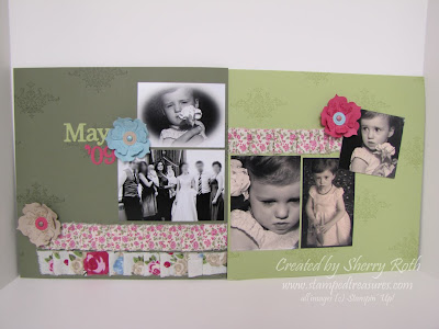 Custom Scrapbook Layout