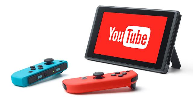بعد إنتظار طويل تطبيق YouTube قادم على جهاز Nintendo Switch وهذا موعده ..