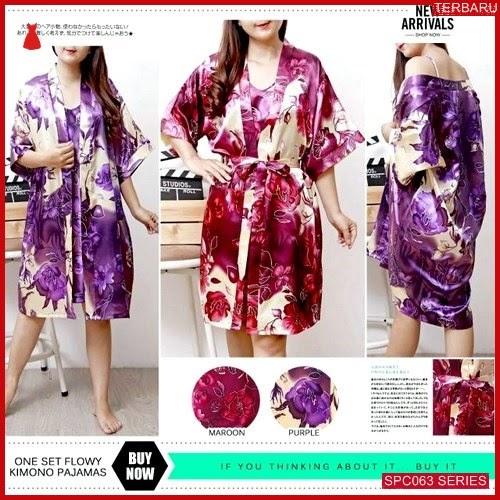 SCP063P85 Piyama One Flowy Set Baju Tidur Wanita | BMGShop