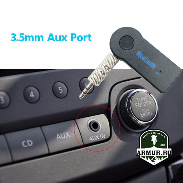 Wireless Bluetooth V4.1 3.5mm AUX Audio Stereo Music Home Receiver Adaptor