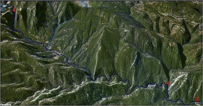 El Río Escabas a vista de pájaro (imagen 2)