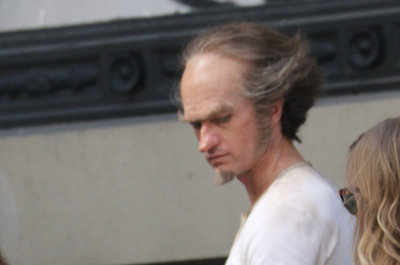 Lemony Snicket's A Series of Unfortunate Events - BTS Photos of Neil Patrick Harris as Count Olaf