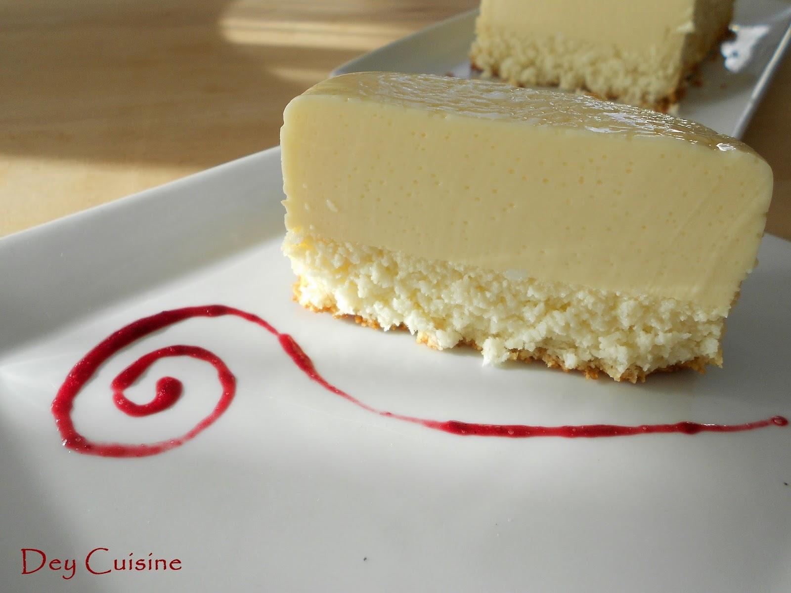 Cake A La Poudre De Noix De Coco