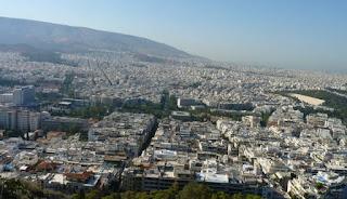 Atenas desde la Colina Licabeto.