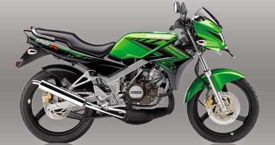 Motor Kawasaki Ninja 150 R / L HIJAU
