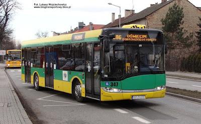 Solaris Urbino 12, PKM Tychy, Oświęcim