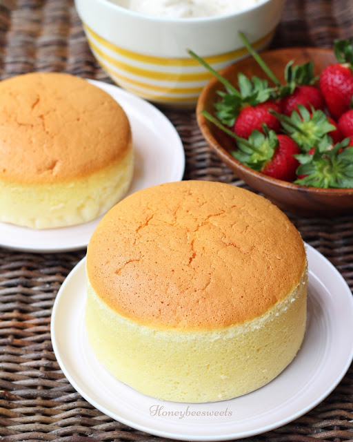 Sponge Cake Deflate After Baking