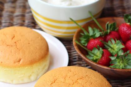 Butter Vanilla Sponge Cake