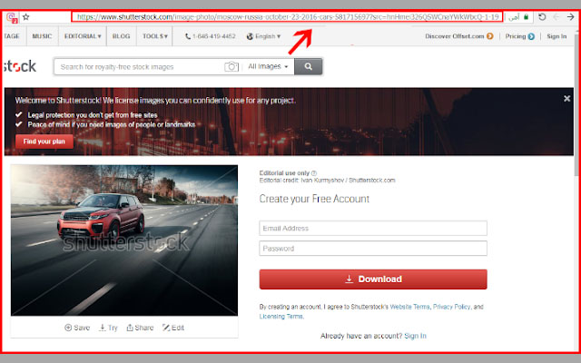 This way you will be able to download all images from Shutterstock