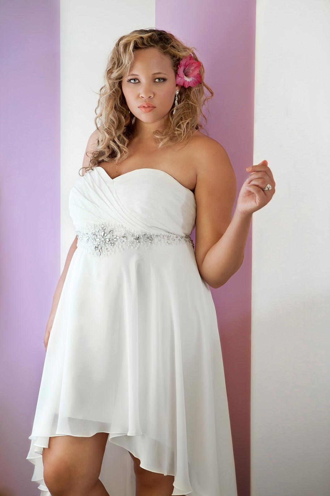 Plus Size Beach Wedding Dresses 2015