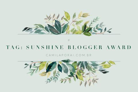 Tag: Sunshine Blogger Award