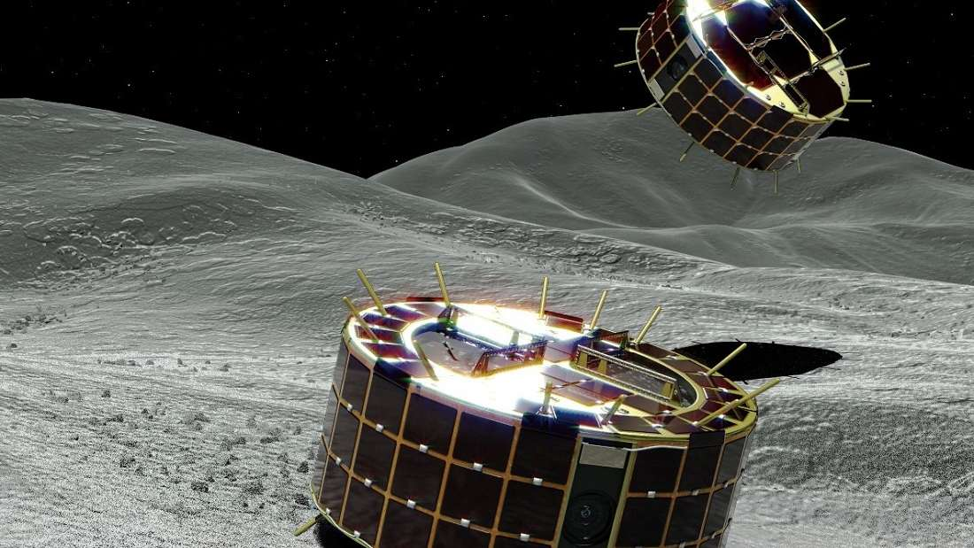 Japanese Spacecraft Successfully Landed The First Rovers On An Asteroid