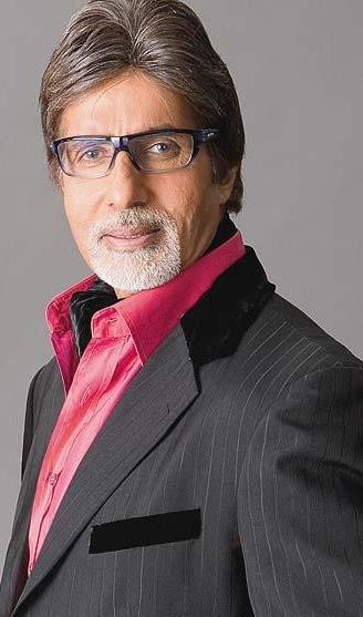 Foto de Amitabh Bachchan posando