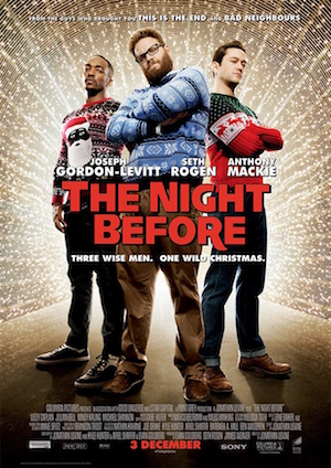 Poster The Night Before 2015
