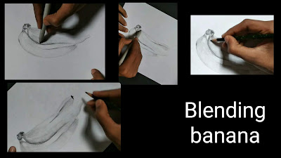 How to draw banana,easy drawing of bananas, easy to learn to draw, class 8 drawing, easy banana drawing