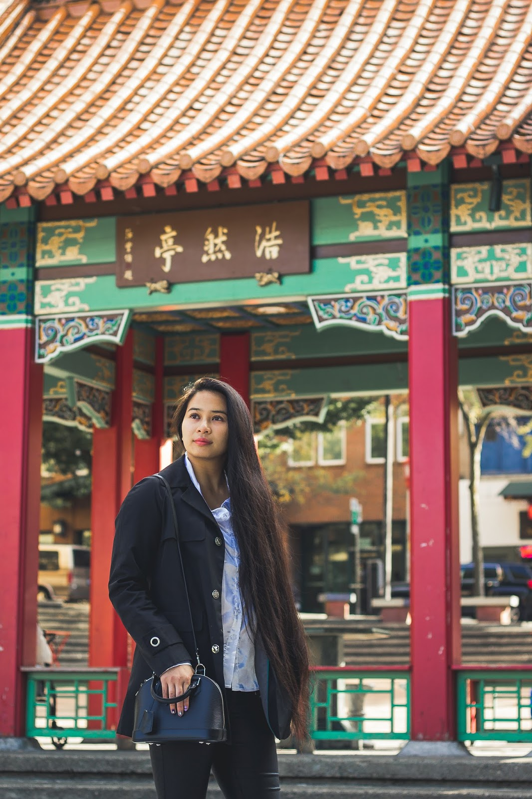 seattle blogger chinatown international district chinese long hair alma bb louis vuitton