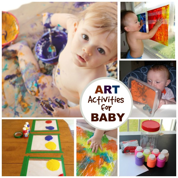 Art activities for baby #artsandcraftsforkids
