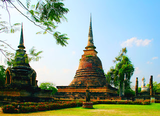 archaeological park in Sukhothai
