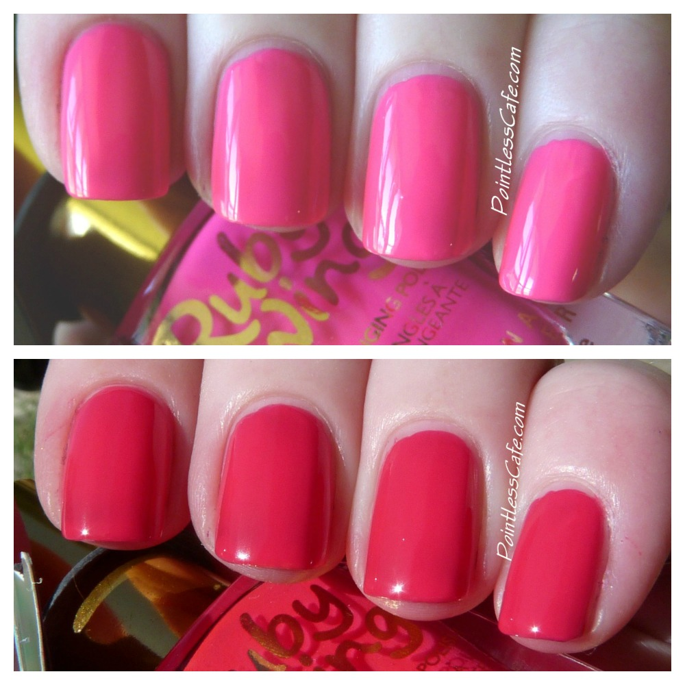 Ruby Nail Polish: Ruby Wing Groupie Color Changing Polish