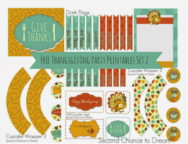 15 Free Thanksgiving Printables