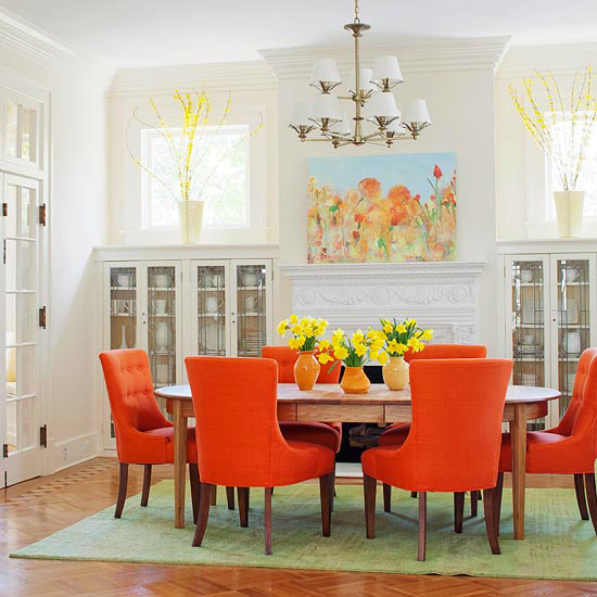 Decorating Ideas Color Inspiration: Decorating With Pink Orange {Inspired By Beauty