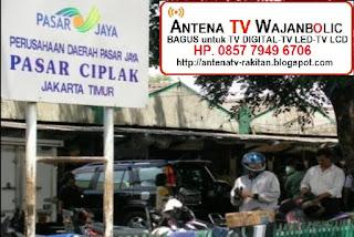 Jual ANTENA TV WAJANBOLIC  Cipinang Besar Selatan Pasar Ciplak Jakarta Timur