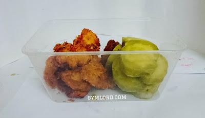 Món ăn giảm cân thể hình: Lườn gà + Khoai lang