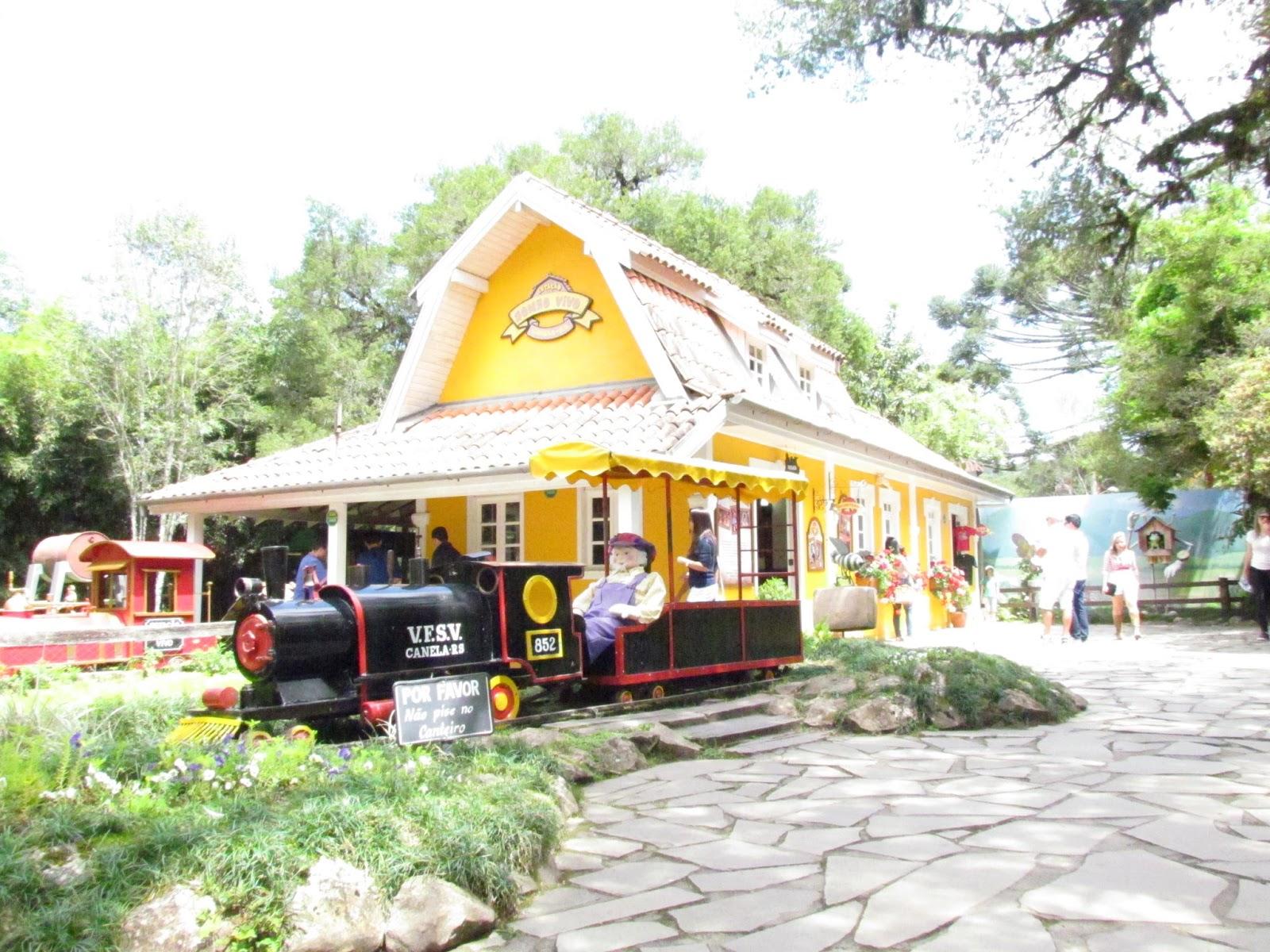 Parque do Caracol e a Estação Sonho Vivo