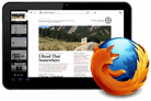 Firefox browser for tablets unveiled
