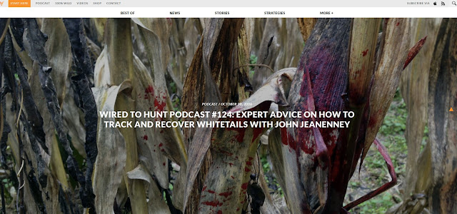BORN-TO-TRACK BLOG: Wired To Hunt podcast with John Jeanneney on how ...