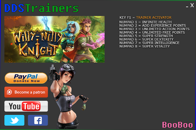 Willy-Nilly Knight Trainers and Cheats for PC