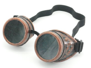 steampunk goggle accessory for womens sheer sexy steampunk outfit
