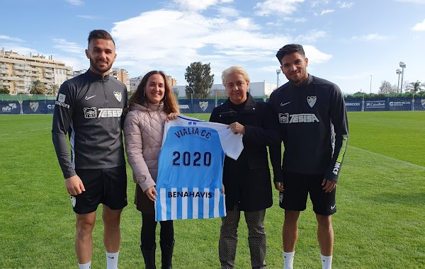 Málaga CF y Vialia CC renuevan una temporada más