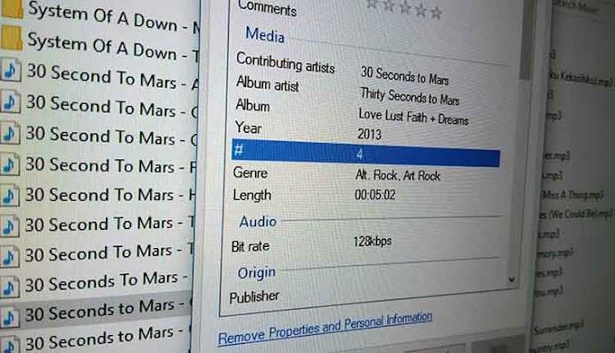 Cara Menghapus Meta Data File Pada Windows 10