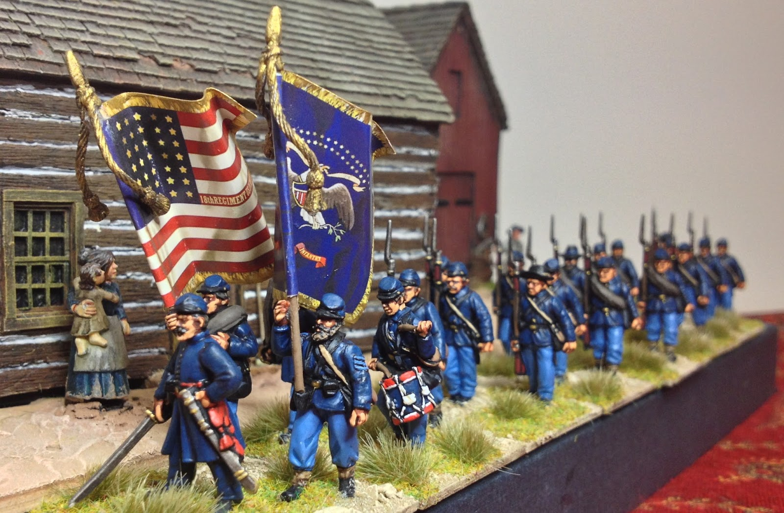 Lonely Gamers Perry Miniatures Acw Plastics